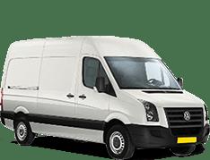 Autoreclame bestelwagen