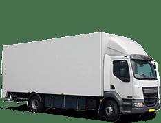 Autoreclame vrachtwagen
