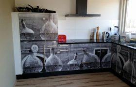 keuken wrappen folie