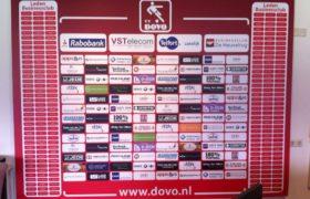 sponsorbord voetbal