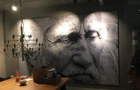 muurprint wanddecoratie